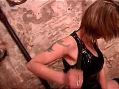 Mistress babe pumps big dick