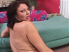 footjob, pantyhose, mom, brown hair,