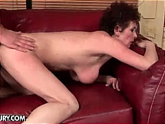 uniform, brown hair, old young, mature, doggy, brunette, rough fuck, granny, doggy style, old and young