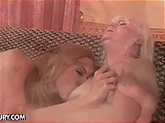 pussy, old and young, blonde,