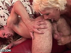 amateurs, old and young, old young, milf, blonde, big dick, granny, sucking, blondes