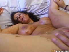 cowgirl, shaved, doggy, blowjob, milf, tit, brunette, tattoo, busty, fingering, hardcore, mouth