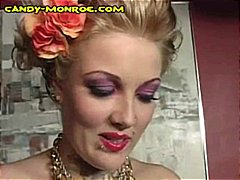 Blonde domme with...