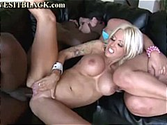 interracial, big cock, threesome