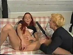 redhead, group sex, european,