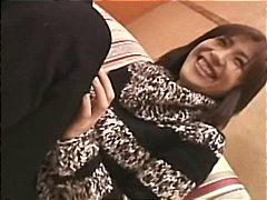 Mature Asian amateur Hina rubs and to...