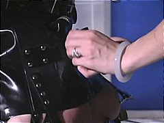 Naughty redheaded slave gets bound, g...
