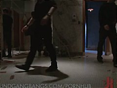 Sexy Asian MILF in clips of BDSM, thr...
