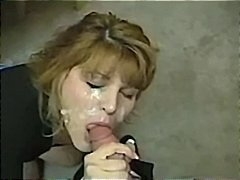 Hot MILF in a POV blow...