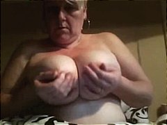 Karen is a big amateur mature blonde ...