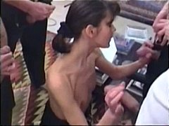 french, group sex, gangbang, anal