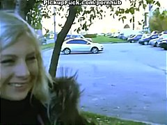 Blonde teen comes over... video