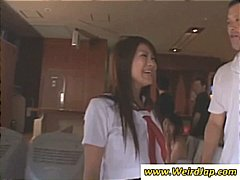 Nuvid Movie:Sexy Japanese girls losing clo...