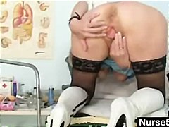 Nuvid Movie:Blonde granny nurse gives hers...