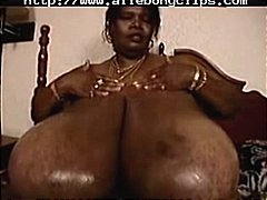 Ebony Norma has humong... video