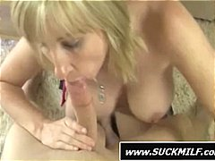 Busty blonde mom is sl...