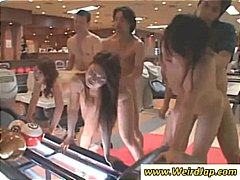 teen, fucking, young, asian, doggystyle, group sex