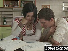 Nuvid Movie:Russian schoolgirl gets seduce...