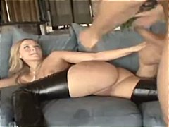 alexis texas,  latex, ass, tight, rubbing