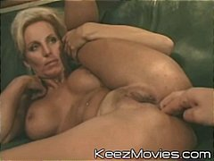 Hot blonde MILF spread...
