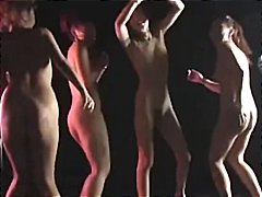 Asian girls are naked ... video