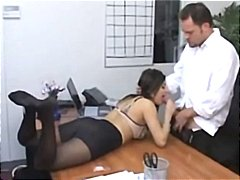 Hot secretary Sativa R... video