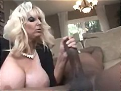 cougar, mature, boobs