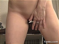 Thumb: Horny blonde MILF gets...
