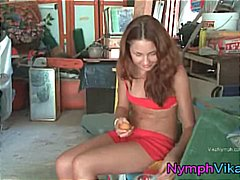 solo, redhead, russian, toys, teen,