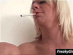 masturbating, smoking, fetish, girl,
