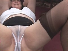 granny, mature, hairy,