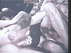Vintage hardcore porn action with classic stars getting fucked