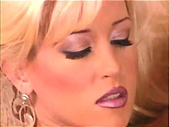 Blonde babe Jill Kelly gets and gives head before getting banged