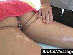 Nuvid - Brunette is getting a ...