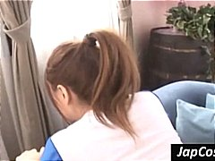 Japanese girl gets ben... video