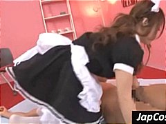 Hot Asian maid gets fi... preview