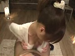 Nuvid Movie:Busty Japanese girl in differe...