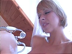 Mature blonde gets her... video