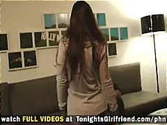 Nuvid Movie:Busty brunette Lisa Ann strips...
