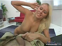riley evans,  facial, blonde,