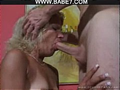 facial, blowjob, blonde, cumshot