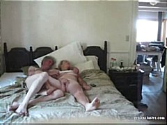 couple, orgasm, fingering, granny,