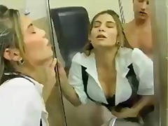 Ryder Skye getd fucked in toilets