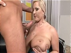 Huge tits facial for B...