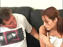 redhead, pussy to mouth, blowjob