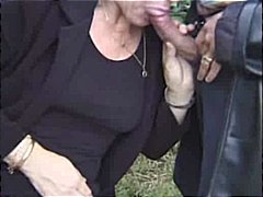 facial, threesome, blowjob, outdoor,