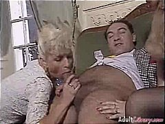 2 Mature women getting...