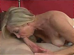 Nuvid - Glamorous Granny in Stockings Loves Anal