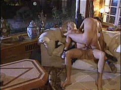 cumshot, stockings, ass-to-mouth, blonde, fucking, anal, double fucking, threesome, silvia saint, facial