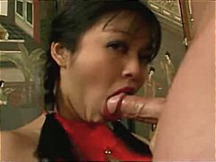 facial, sperm, asian, jizz, big tits,